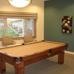 Courtyard Terrace Assisted Living Billiards Room   Nebraska Assisted Living   Nebraska Senior Living