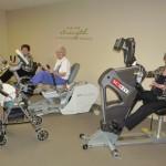 Courtyard Terrace Fitness Room   Nebraska Assisted Living