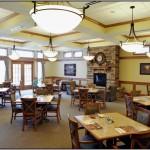Courtyard Terrace Dining Room   Nebraska Assisted Living
