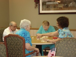 Gardens Alzheimer's & Dementia Care Nebraska - Card Game